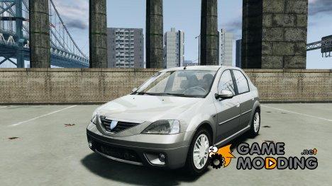Dacia Logan 2007 Prestige 1.6 for GTA 4