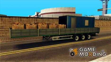 Maз 9758 Борт для GTA San Andreas