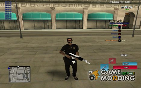 C-HUD by SampHack v.19 для GTA San Andreas