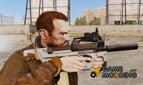 Бельгийский пистолет-пулемёт FN P90 v3 for GTA 4