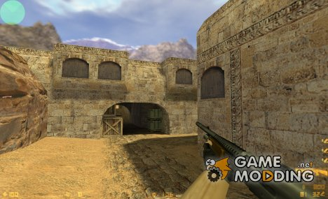 M3 wooden stock для Counter-Strike 1.6