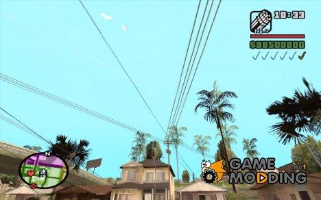 Новые звезды для худа №8 for GTA San Andreas