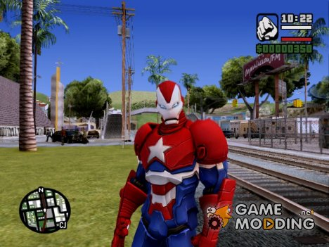 Iron Patriot Norman Osborn для GTA San Andreas