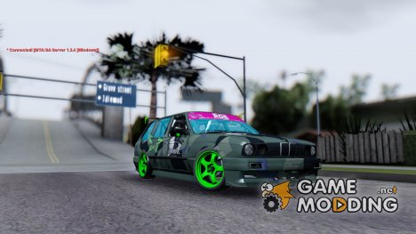 BMW E30 Touring Drift для GTA San Andreas