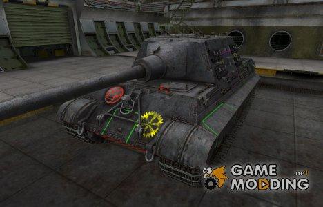 Контурные зоны пробития Jagdtiger для World of Tanks
