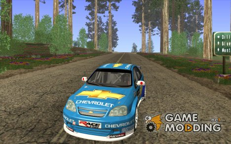 Chevrolet Lacetti WTCC for GTA San Andreas