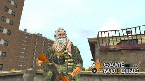 Арабский террорист for GTA 4