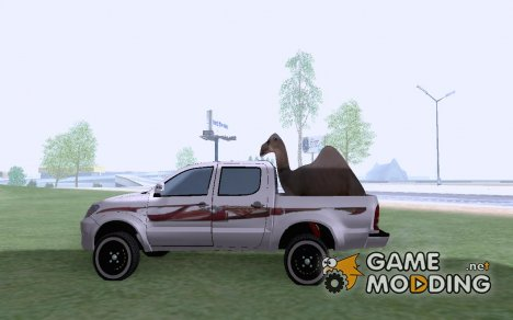 2010 Toyota Hilux for GTA San Andreas