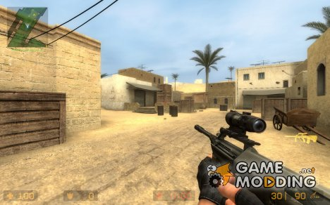 ACOG Steyr AUG A2 для Counter-Strike Source