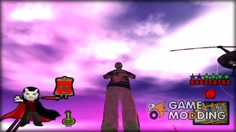 C-HUD Vampire by Hapaxe for GTA San Andreas