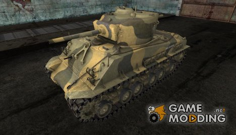 M4A3 Sherman от jasta07 2 для World of Tanks