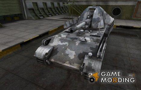 Камуфлированный скин для GW Panther for World of Tanks