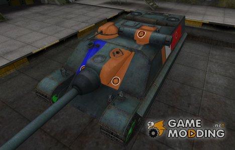 Качественный скин для AMX-50 Foch (155) для World of Tanks