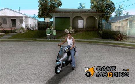 GTAIV Faggio for GTA San Andreas