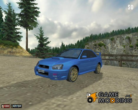 Subaru Impreza II Facelift WRX STi для Mafia: The City of Lost Heaven