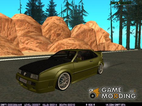 Carzy Drift Car Pack BETA для GTA San Andreas