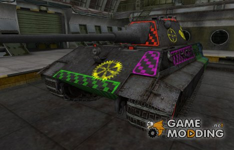Качественные зоны пробития для E-50 для World of Tanks