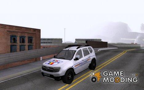 Dacia Duster Politia для GTA San Andreas