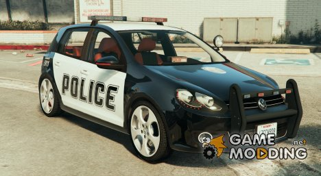 Volkswagen Golf Mk 6 Police version для GTA 5