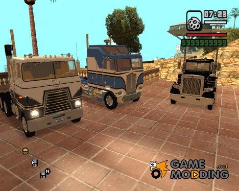 Пак дальнобойщика for GTA San Andreas