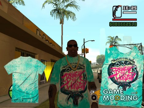 Футболка Bring Me The Horizon для GTA San Andreas