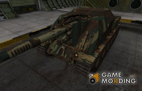 Французкий новый скин для Lorraine 155 mle. 51 для World of Tanks