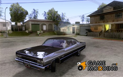Plymouth Fury III coupe 1969 for GTA San Andreas