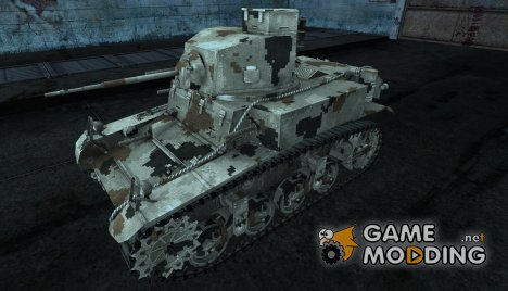 Шкурка для M3 Stuart for World of Tanks