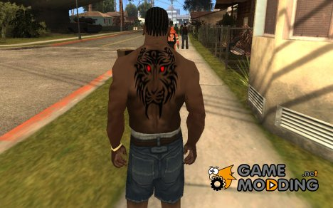 Tiger Tattoo for GTA San Andreas