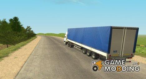 Полу-прицеп МАЗ 9758-012 для GTA San Andreas