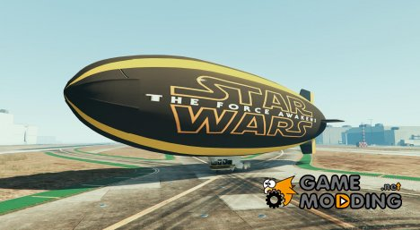 Star Wars the Force Awakens Blimp for GTA 5