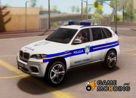 BMW X5 - Croatian Police Car for GTA San Andreas