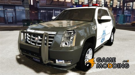 Cadillac Escalade Police V2.0 Final for GTA 4