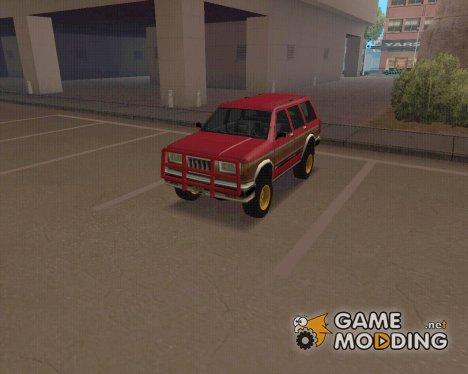 Landstalker OffRoad для GTA San Andreas