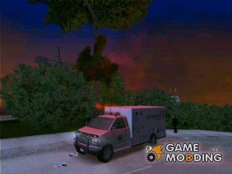 Скорая помощь из GTA IV для GTA 3