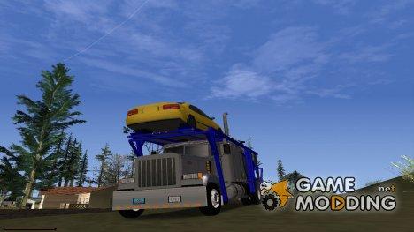 Peterbilt 379 Packer Tractor для GTA San Andreas