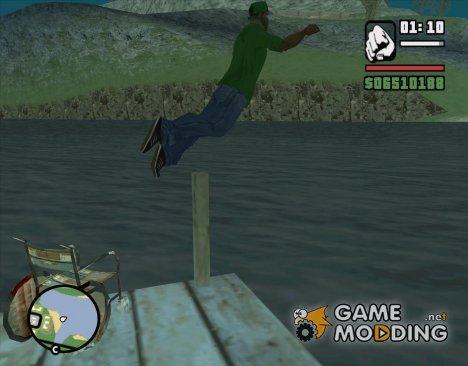 Возможность нырять на пляже в Паломино Крик for GTA San Andreas