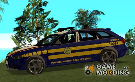 Audi RS4 Avant B8 2013 Polícia Rodoviaria Federal for GTA San Andreas