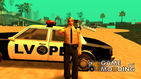 New lvpd1 для GTA San Andreas