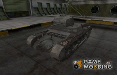 Горный камуфляж для PzKpfw 38H 735 (f) для World of Tanks