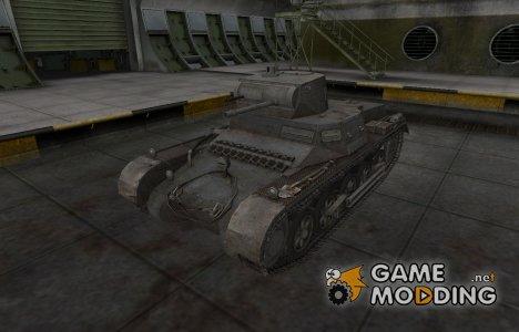 Горный камуфляж для PzKpfw 38H 735 (f) for World of Tanks