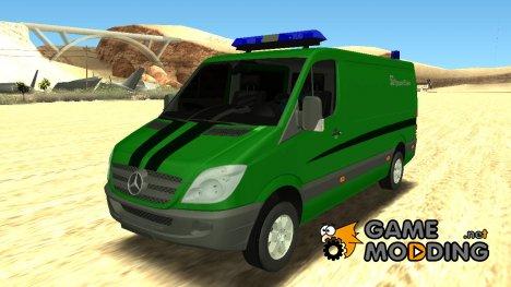 Mercedes-Benz Sprinter Приват Банк для GTA San Andreas