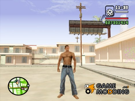 Джинсы BETA для GTA San Andreas