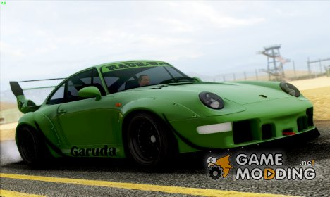 Porsche 993 GT2 RWB GARUDA for GTA San Andreas