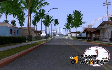Спидометр по просьбе 7rostyk for GTA San Andreas
