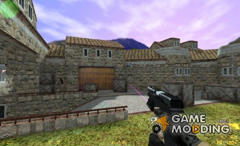 TACTICAL GLOCK ON VALVE'S ANIMATION для Counter-Strike 1.6