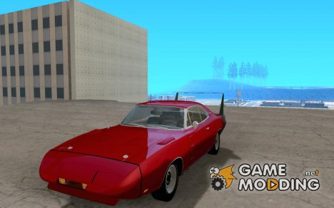 Dodge Charger Daytona 1969 for GTA San Andreas