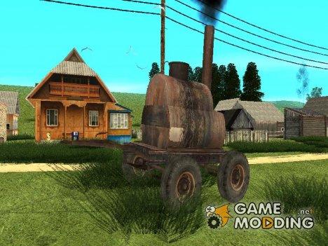 Гудронный коллайдер для GTA San Andreas