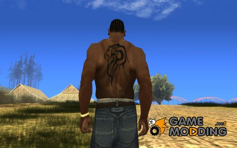 Lionhead Tattoo for GTA San Andreas