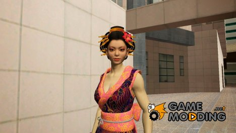 Asian Girl from Binary Domain for GTA San Andreas